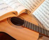 Nauka gry na gitarze.