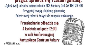 CASTING do Zespołu Wokalnego.